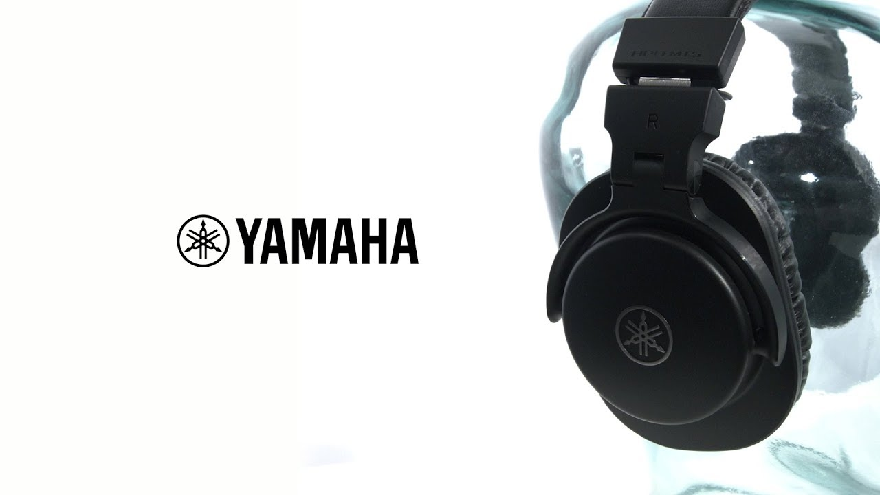 yamaha hph mt5 studio monitor headphones black gear4music demo youtube. Black Bedroom Furniture Sets. Home Design Ideas