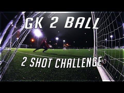 GK 2 shot Challenge with Hashtag Academy GK Ollie!