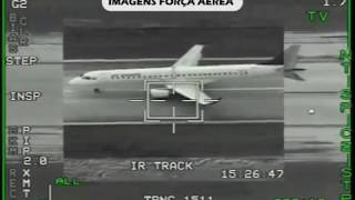AIR ASTANA KC1388 EMERGENCY LANDING FOOTAGE FROM F-16