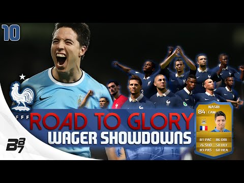 ROAD TO GLORY WAGER MATCHES FRANCE | NASRI! #10 | FIFA 14 UT