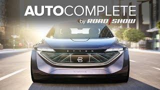 AutoComplete: Byton's K-Byte EV sedan concept is a stunner thumbnail