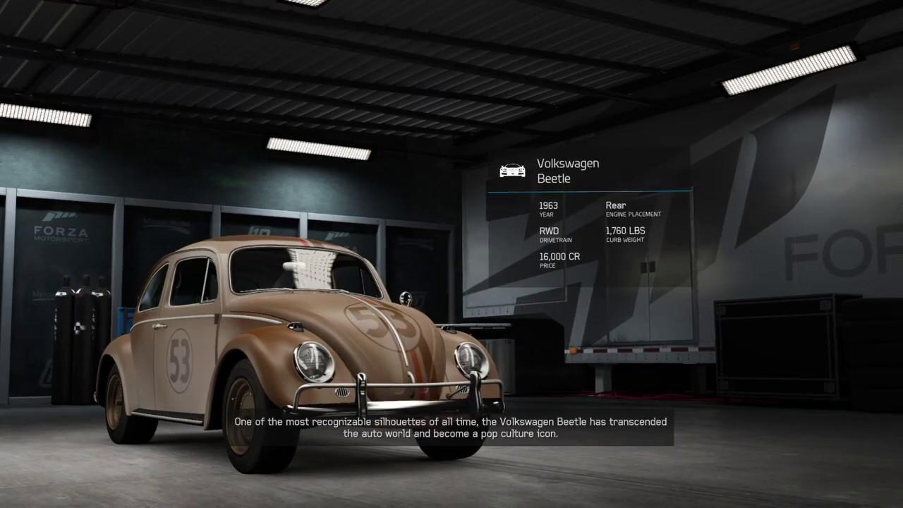 Junkyard Herbie Debut Forza 6 - YouTube