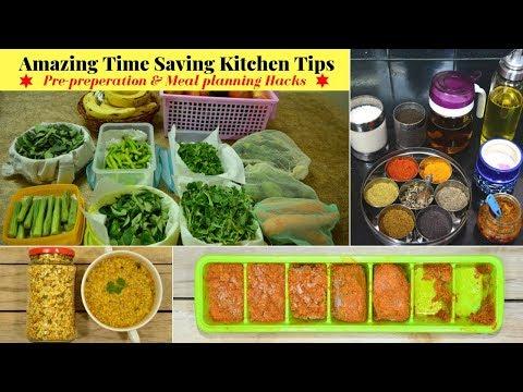 Time Saving Kitchen Tips/Hacks for Healthy Lifestyle | Indian Vegetarian Meal Planning | Urban Rasoi