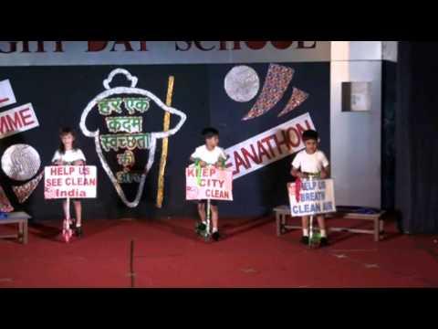 Swachh Bharat Song by Bright Day School Vadodara