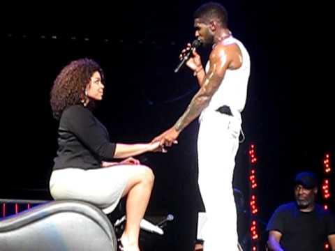 Usher OMG Tour Glendale AZ 11/19/2010 Trading Places W/Jordin Sparks