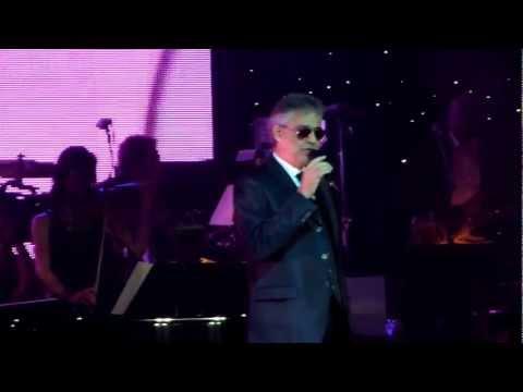 Andrea Bocelli - Love Me Tender (Elvis) @ Celebrity Fight Night 2013