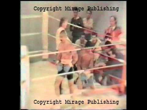 Prisoner Charles Bronson rare Fight Footage