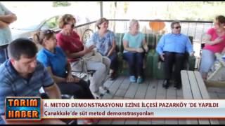 4. Metod Demonstrasyonu Ezine ilçesi Pazarköy'de yapıldı