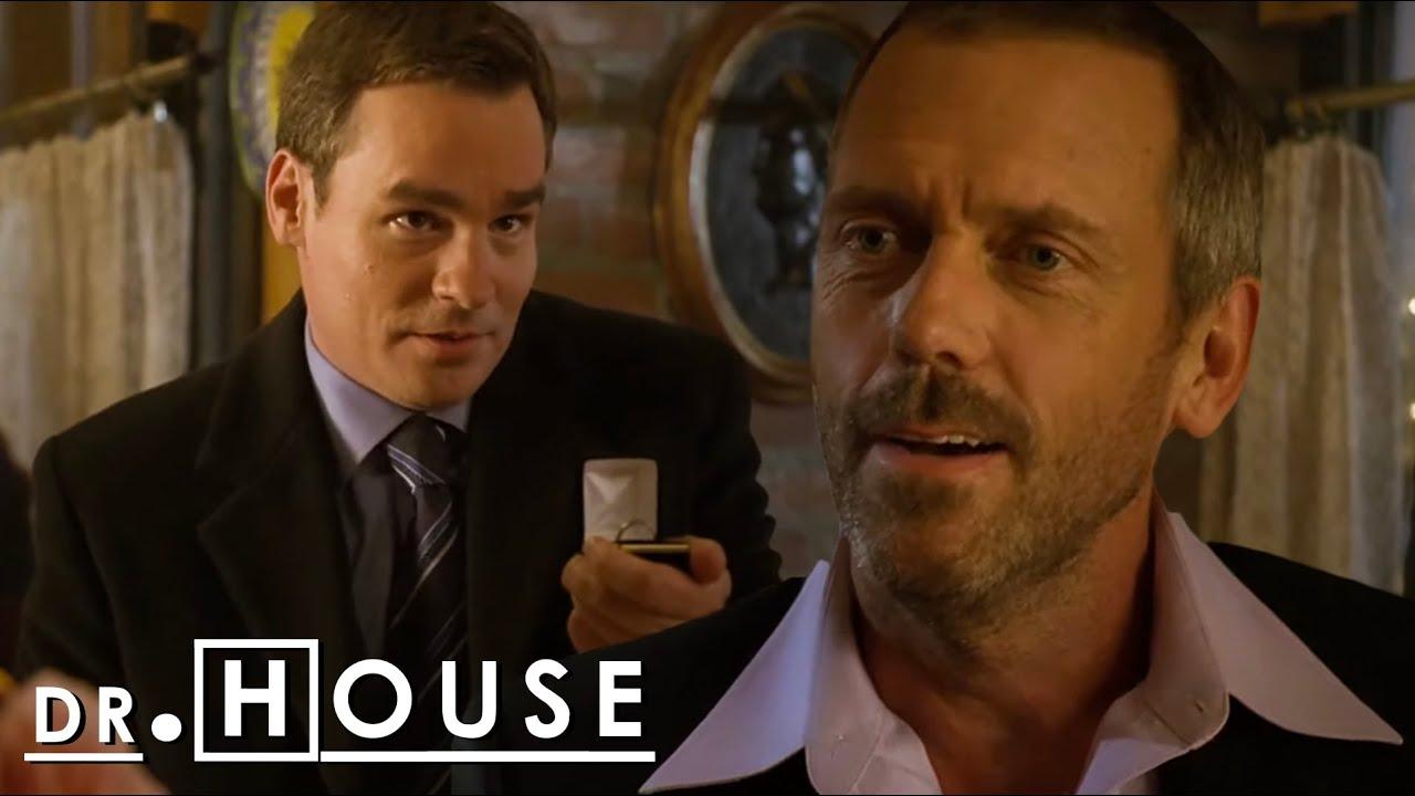 ''AMO A ESTE HOMBRE. Gregory House, ¿te casarías conmigo?''   Dr. House: Diagnóstico Médico
