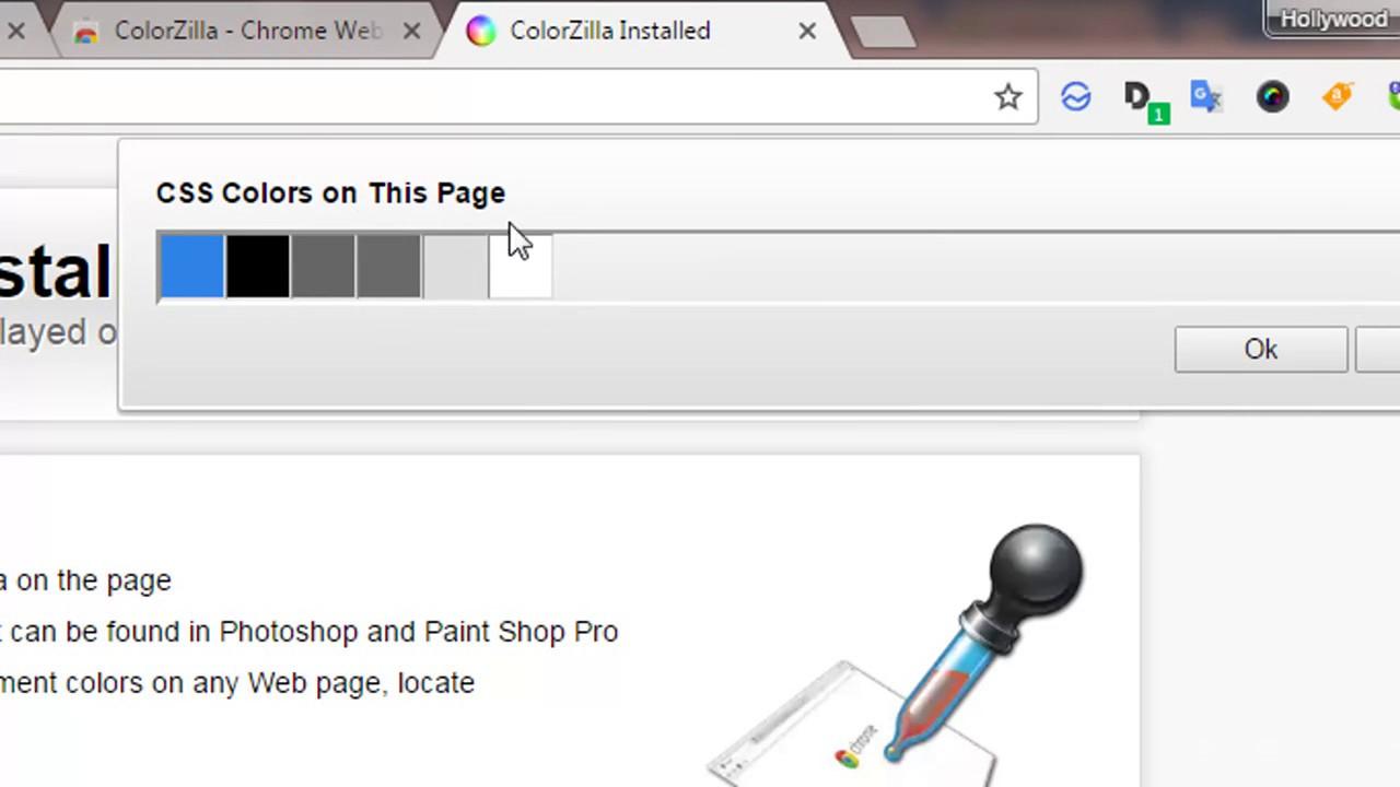 Colorzilla online - Pick Color Using Colorzilla