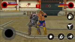 Marcus vs King #34 SuperHeroes Street Fighter   Modern Fighting Games