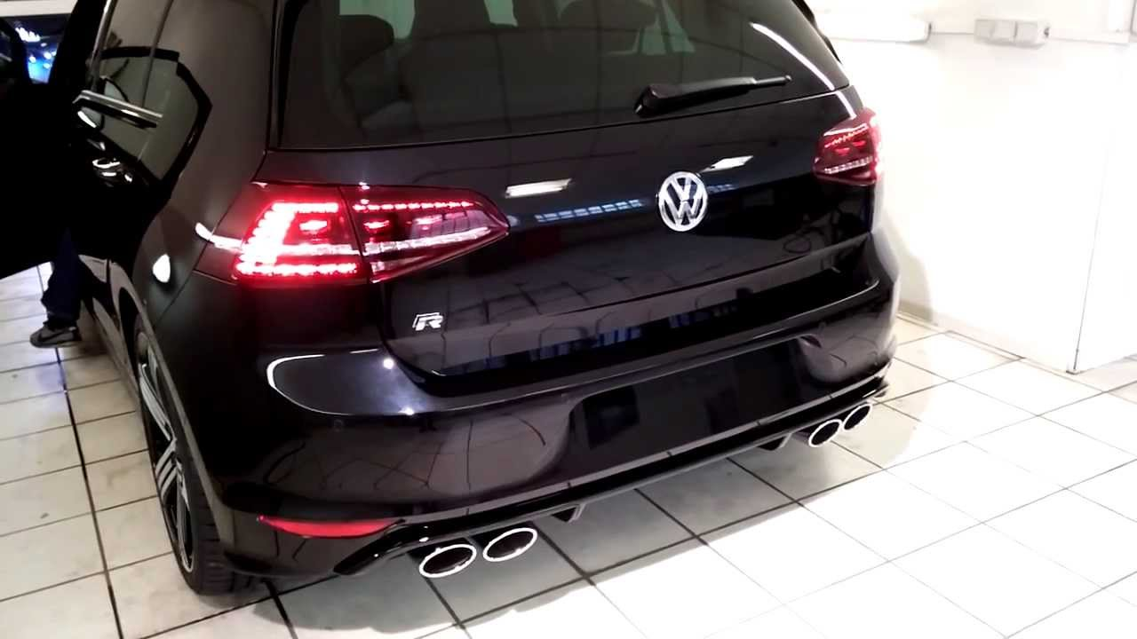 volkswagen golf vii r 2 0 turbo sound youtube. Black Bedroom Furniture Sets. Home Design Ideas