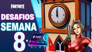 All Week 8 + FORTBYTE SECRETO #97 (Season 9) Fortnite Battle Royale