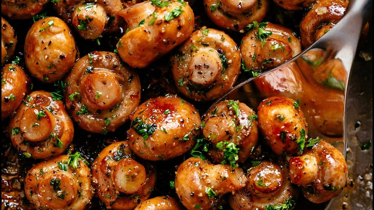Garlic Mushrooms Youtube