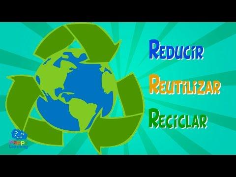 Reducir, Reutilizar y Reciclar. Para mejorar el mundo | Videos Educativos para Niños