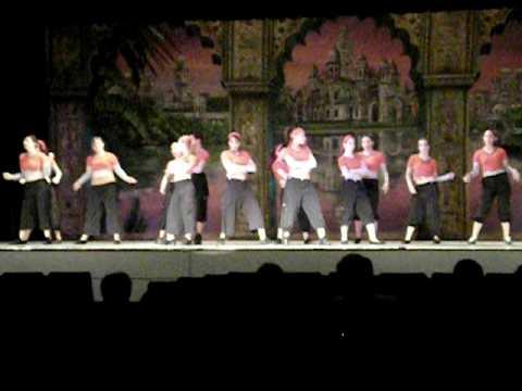 Dance recital-Theme...Aladin
