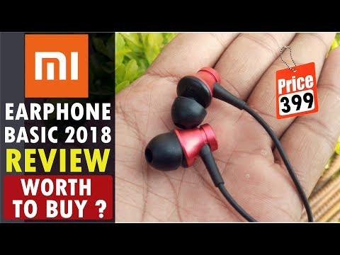 New Mi Earphone Basic 2018 (Rs 399) Unboxing & Full Review in Hindi || Best Earphone Under Rs 400.