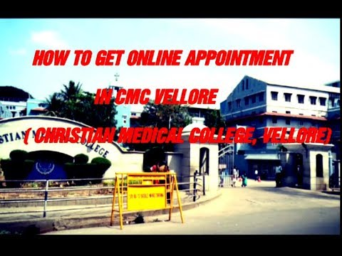 CMC VELLORE MEY ONLINE APPOINTMENT BOOK KAISE KARE