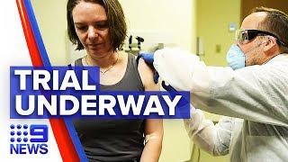 Coronavirus: Human trials of virus vaccine on the horizon | Nine News Australia