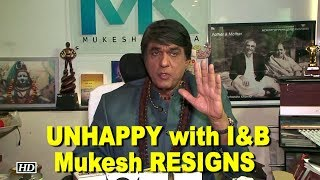 UNHAPPY with I&B Ministry, Mukesh Khanna RESIGNS from children film society