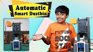 How to make an Automatic Object Sensing Smart Dustbin (हिंदी में) | The Smart Dustbin with Avishkaar