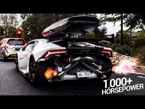 Bagged Twin Turbo 1000HP Lamborghini...