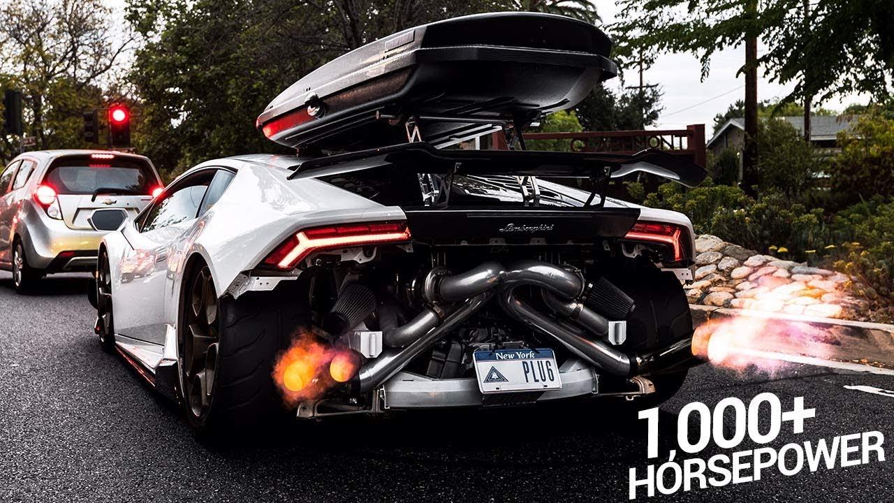 Bagged Twin Turbo 1000HP Lamborghini Huracan!! (INSANE ...
