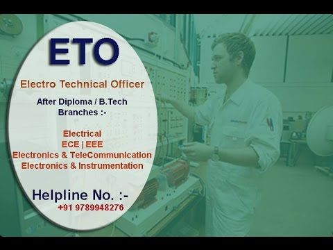 ETO (Hindi Version)(Electro Technical Officer) Course | Merchant Navy |  After Diploma & B tech