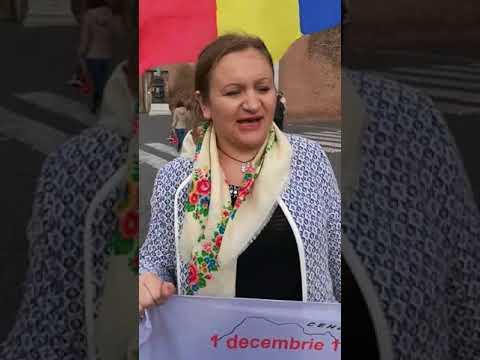 Protest la Roma împotriva lui Igor Dodon