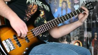 Mastodon - Wolf Is Loose Bass Cover