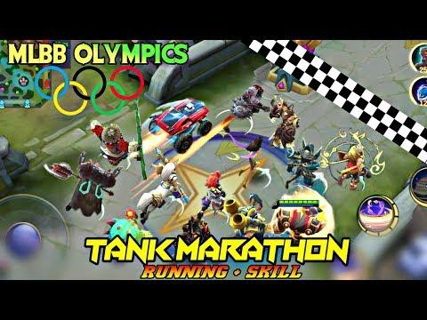 MOBILE LEGENDS OLYMPICS - MARATHON OF TANKS • RUNNING WITH SKILLS TOURNAMENT