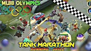 MOBILE LEGENDS OLYMPICS - MARATHON OF TANKS • RUNNING WITH SKILLS TOURNAMENT