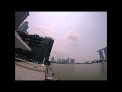 Singapore Waterfront OUE Building 2015