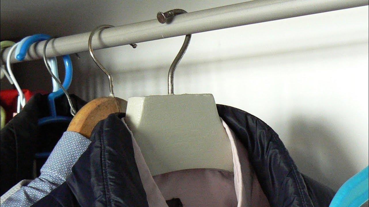 Fabriquer Valet De Chambre recycler un valet de chambre en cintre costaud