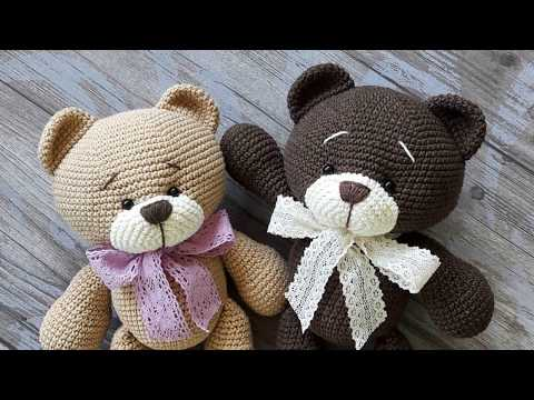 Happy Bears Amigurumi - Free Crochet Patterns - StringyDingDing | 360x480