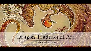 How to Draw a Dragon Head -  Как рисовать дракона(Я уже давно планировала сделать что-то подобное, наконец решилась и взялась. Я надеюсь это видео будет вам..., 2014-05-31T07:53:19.000Z)