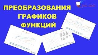 Преобразования графиков функций  Математический справочник  Алгебра 10