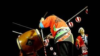 2012/7/28 園田東地区子ども会連合会 子ども会夏まつり 盆踊り 園田東小...