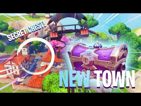 SECRET CHEST! - New Town