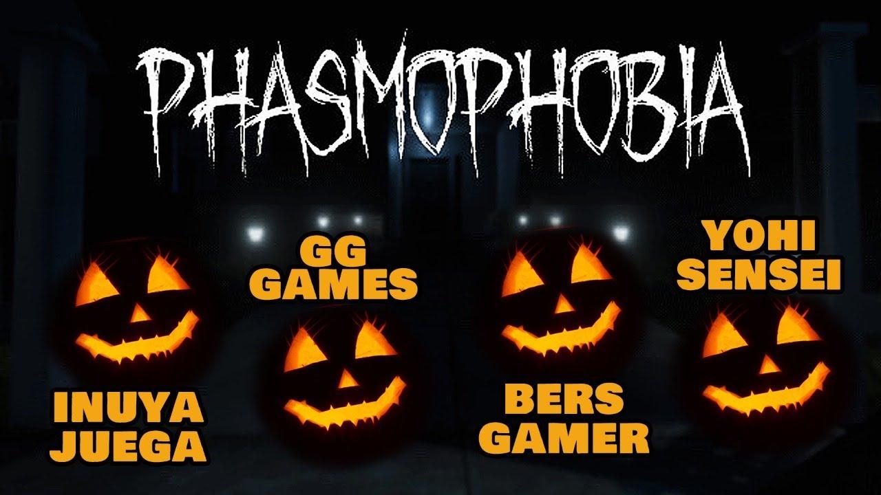 ¡QUE MIEDO! Phasmophobia con BersGamer, GG Games y YohiSensei
