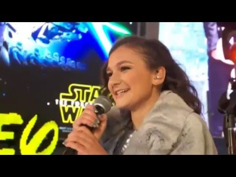 Daya performs Sit Still, Look Pretty New Years Eve 2016 Times Square