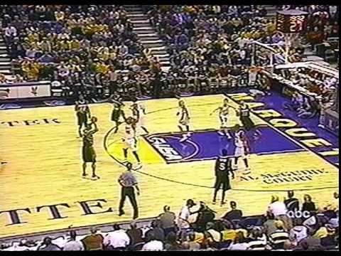 2003 - #2 UofL at #11 Marquette (Gaines vs Wade) - Full Game