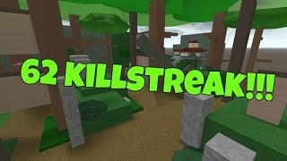 Roblox - Be A Parkour Ninja - 17 + 62 Killstreak!!!