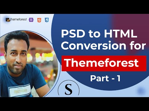 Professional PSD To HTML Template Class 1