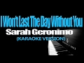 I Wont Last A Day Without You Sarah Geronimo Karaoke New Version