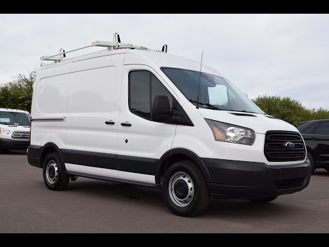 2016 Ford Transit T-150 Medium Roof HVAC Spec Walkaround