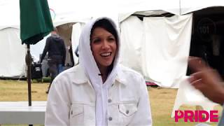 Backstage with K.Flay: Sexual Fluidity, Saving the Earth, & Aliens??!