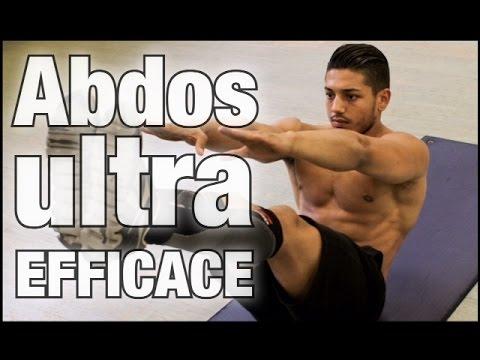Entrainement des abdos ultra efficace avec 4 exercices by for Abdos fessiers exercices a la maison