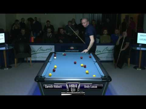 IPA World Pool Championships 2017  Hibbott V Lucas