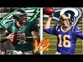 CARSON WENTZ VS JARED GOFF -- Battle of Future MVPs | RIVALRY REBUILD | Madden 19 Franchise Mode